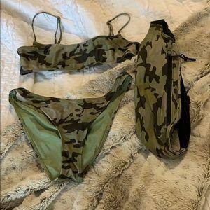 Camo Triangl Bikini